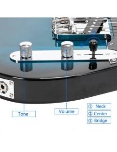 Maple Fingerboard GTL Electric Guitar SS Pickup Blue