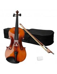 "15"" Acoustic Viola   Case   Bow   Rosin Brown"
