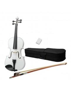 "16"" Acoustic Viola   Case   Bow   Rosin White"