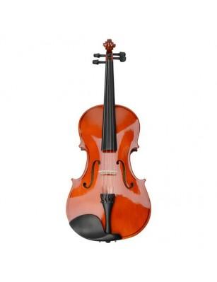 "15"" Acoustic Viola   Case   Bow   Rosin Nature Color"