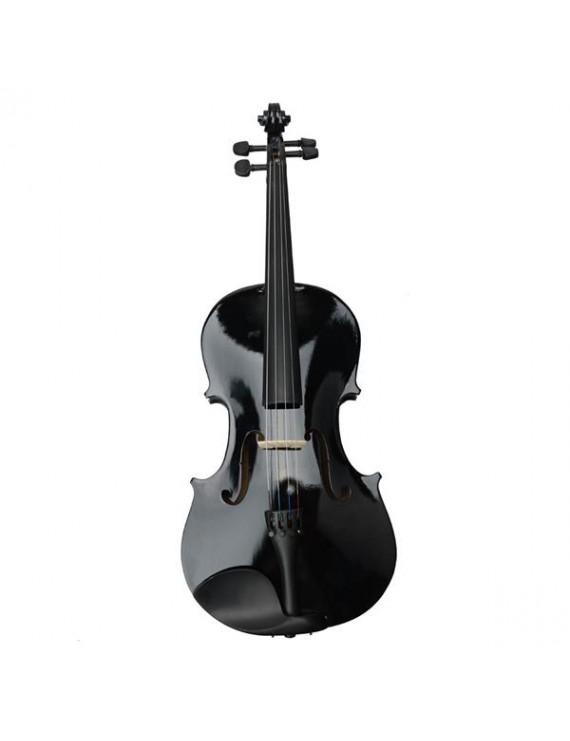 "16"" Acoustic Viola   Case   Bow   Rosin Black"