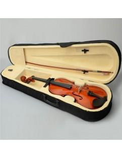 "16"" Acoustic Viola   Case   Bow   Rosin Nature Color"